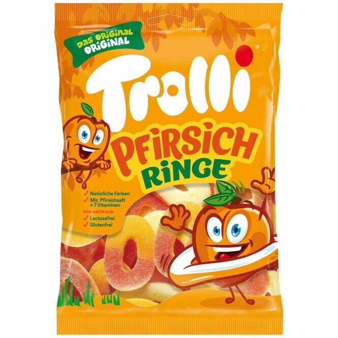 Trolli Pfirsichringe (200 g)