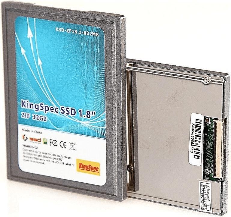 Image of KingSpec ZIF SSD 64GB