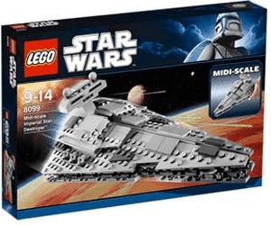 LEGO Star Wars Imperial Star Destroyer à échelle réduite (8099)