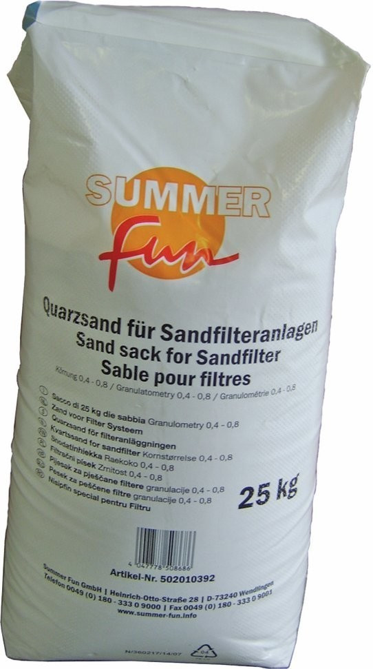 Summer Fun Quarzsand 25 kg (0,4 - 0,8 mm)