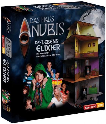Jumbo Das Haus Anubis - Das Lebenselixier 3D Spiel