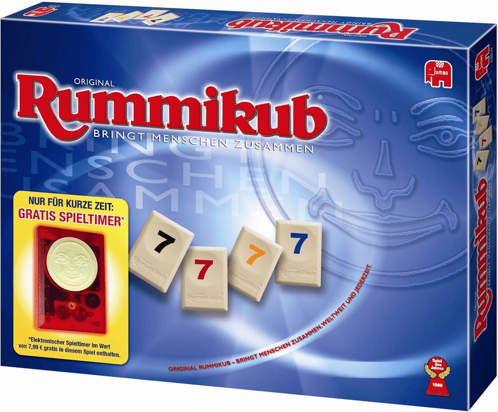 Jumbo Rummikub mit Timer