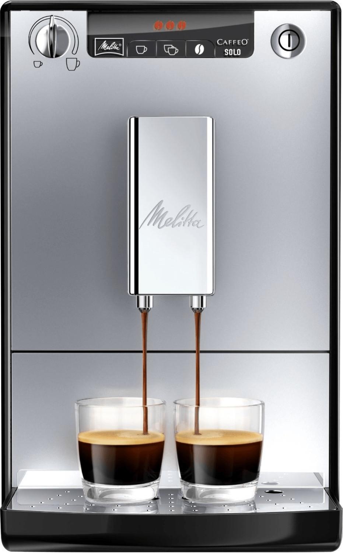 Melitta Caffeo Solo E 950-103 Silber-Schwarz