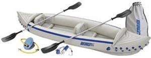 Sea Eagle 370 Kayak weiß