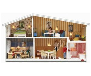 Lundby maison de poup es smaland 1 18 au meilleur prix sur - Maison de poupee lundby ...