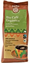 Bio kaffee entkoffeiniert