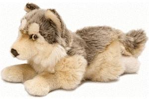 WWF Wolf liegend 25 cm