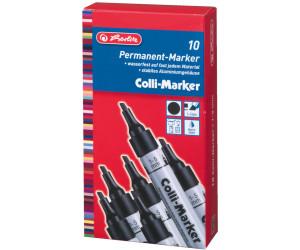 "Herlitz Permanent Marker /""Collimarker/"" Rundspitze schwarz"