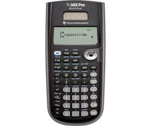 Schutztasche und GeometrieSet TI 30 XS MultiView Taschenrechner