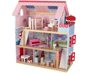 kidkraft maison de poup e chelsea au meilleur prix sur. Black Bedroom Furniture Sets. Home Design Ideas