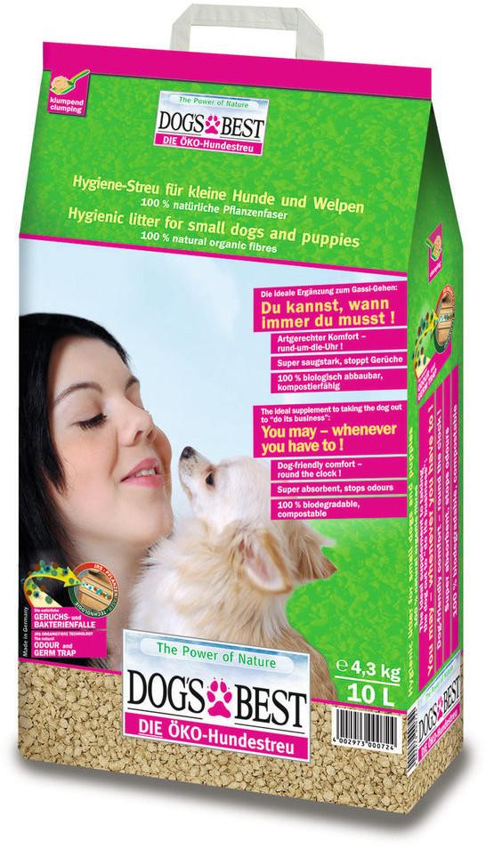 Dog's Best Kleinhundestreu (10 l)