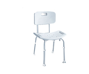 Ridder A00602101 Badezimmer-Stuhl mit Rückenlehne ab 25,69 ...