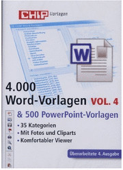 Chip 4000 Word- & 500 PowerPoint-Vorlagen (DE) ...