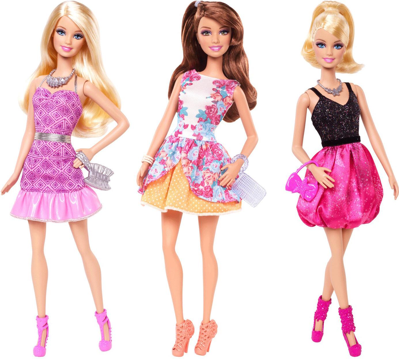 Barbie Fashionistas Glam