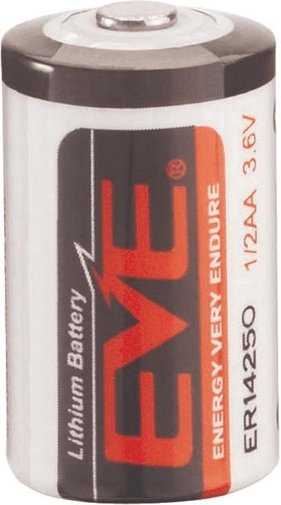 Image of EVE 1/2 AA Li/SOCl2 Battery ER14250 3,6V 1200mAh