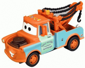 Carrera Go!!! - Disney Cars ´´Mater/Hook´´ (61183)
