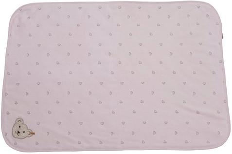 Steiff Nicki-Playmat striped with Teddy aplications