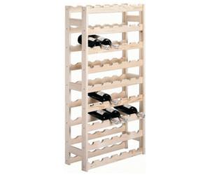 zeller weinregal kiefer f r 54 flaschen 13165 ab 26 90 preisvergleich bei. Black Bedroom Furniture Sets. Home Design Ideas