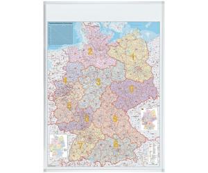 Plz Karte.Franken Plz Karte Deutschland Magnethaftend 100x140cm Ab 75