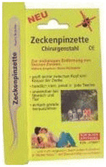 Pharma Brutscher Zeckenpinzette Chirurgenstahl