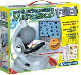 Clementoni Das Elektronische Mikroskop (69750)