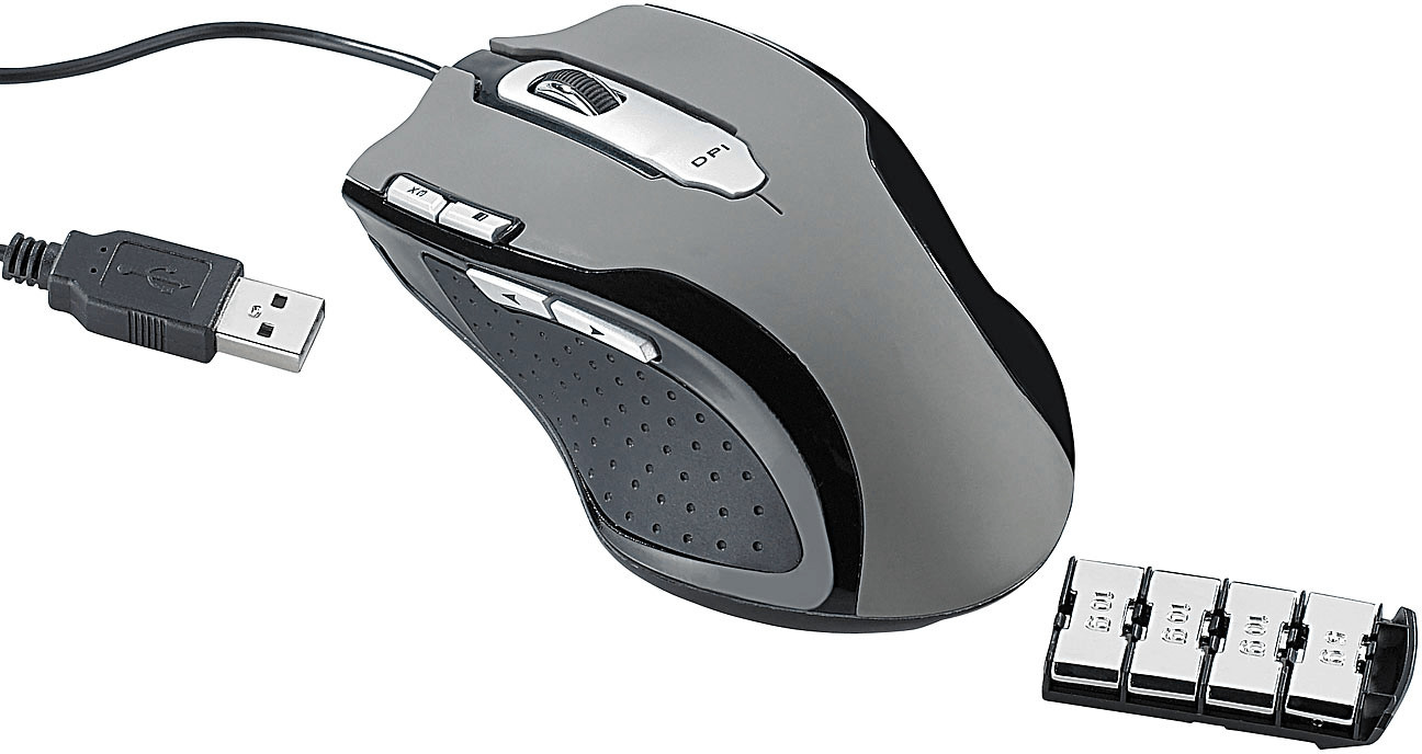 Mod-it Professionelle Gaming-Laser-Maus LMX-500...