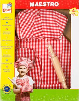 Image of Johntoy Set abbigliamento da cuoco 4 pz.