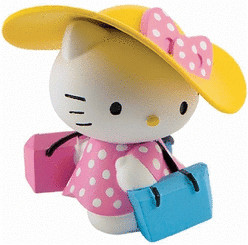 Bullyland Hello Kitty Shopping Girl