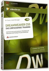 video2brain Dreamweaver CS5 - Das umfassende Tr...
