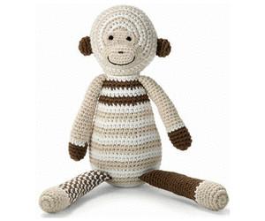 Image of Bellybutton Crochet Monkey 30cm