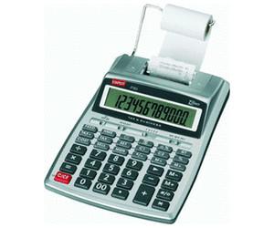 Druckender Tischrechner P30 wei/ß 12-stellig STAPLES