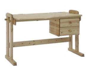 Schreibtisch holz massiv  Massivholz-Schreibtisch Preisvergleich | Günstig bei idealo kaufen