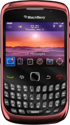Image of BlackBerry Curve 3G 9300 Graphite Grey