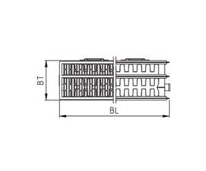 kermi therm x2 profil kompakt typ 33 ab 61 12. Black Bedroom Furniture Sets. Home Design Ideas