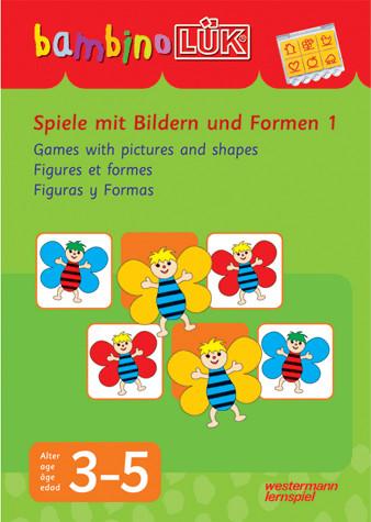 Westermann bambinoLÜK-Set Spiele mit Bildern und Formen