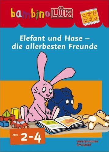 Westermann bambinoLÜK-Set Elefant und Hase - die allerbesten Freunde