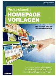 Franzis Professionelle Homepage Vorlagen (DE)