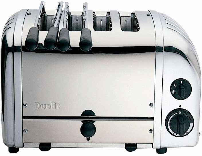 Image of Dualit Combi 2x2 Silver 42187