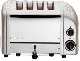 Image of Dualit Combi 2x2 Metallic Silver 42171
