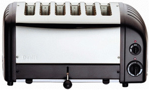 Image of Dualit Vario 6-Slice Black 60145