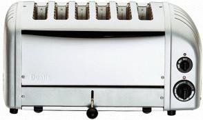 Image of Dualit Vario 6-Slice Metallic Silver 60147