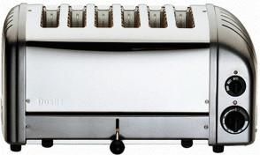 Image of Dualit Vario 6-Slice Metallic Charcoal 60156