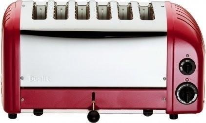 Image of Dualit Vario 6-Slice Red 60154