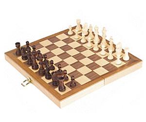 Zerodis Schachspiel 3-in-1-tragbares Schachspiel aus Holz Schach /& Dame /& Backgammon-Klappbrett Tragbares Reise-Tischspiel