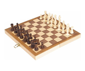Goki Chess set in a wooden hinged case (56922)