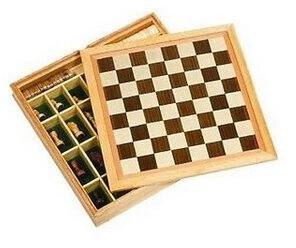 Goki Schachspiel, Dame und Mühle