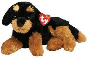 Ty Beanie Babies Brutus Rottweiler