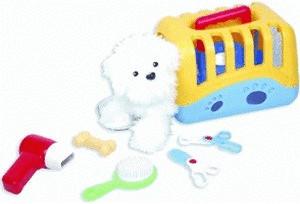 Fun Company Hundetragbox mit Hund und Zubehör
