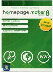 bhv Homepage Maker 8 Express (DE) (Win)