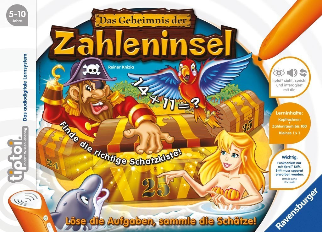 Ravensburger tiptoi - Das Geheimnis der Zahleninsel (05123)
